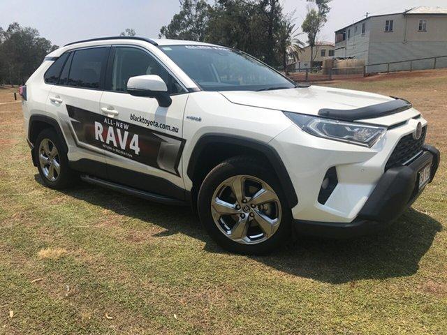 Demo Toyota RAV4 Axah52R GXL 2WD, 2019 Toyota RAV4 Axah52R GXL 2WD Crystal Pearl 6 Speed Constant Variable Wagon Hybrid