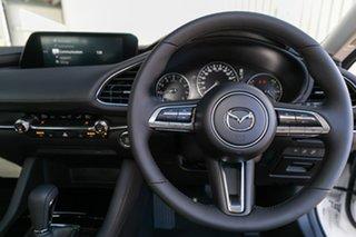 2019 Mazda 3 BP2SLA G25 SKYACTIV-Drive GT Snowflake White Pearl 6 Speed Sports Automatic Sedan