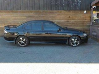 2004 Ford Falcon BA XR6 Black 4 Speed Sports Automatic Sedan.