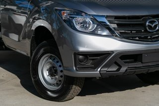 2019 Mazda BT-50 UR0YE1 XT 4x2 Aluminium 6 Speed Manual Cab Chassis.