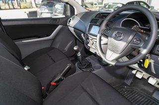 2019 Mazda BT-50 UR0YE1 XT 4x2 Aluminium 6 Speed Manual Cab Chassis