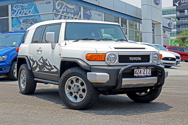 Used Toyota FJ Cruiser GSJ15R , 2013 Toyota FJ Cruiser GSJ15R White 5 Speed Automatic Wagon