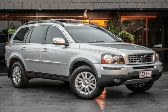 Used Volvo XC90 P28 MY08 D5, 2008 Volvo XC90 P28 MY08 D5 Silver 6 Speed Sports Automatic Wagon