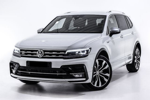 Used Volkswagen Tiguan 5N MY18 162TSI Highline DSG 4MOTION Allspace, 2018 Volkswagen Tiguan 5N MY18 162TSI Highline DSG 4MOTION Allspace White 7 Speed