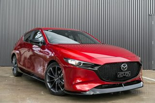 2019 Mazda 3 BP2H76 G20 SKYACTIV-MT Pure Soul Red Crystal 6 Speed Manual Hatchback.