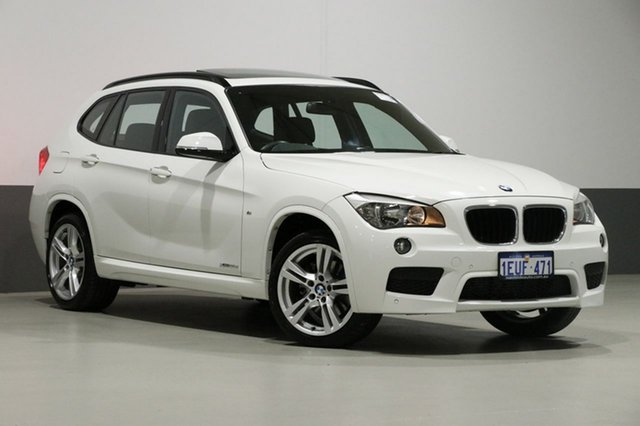 Used BMW X1 E84 MY15 xDrive 20D, 2015 BMW X1 E84 MY15 xDrive 20D White 8 Speed Automatic Wagon