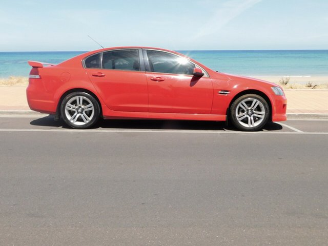 Used Holden Commodore VE SV6, 2007 Holden Commodore VE SV6 Red 5 Speed Sports Automatic Sedan
