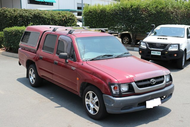 Used Toyota Hilux  , 2003 Toyota Hilux Maroon Automatic Utility