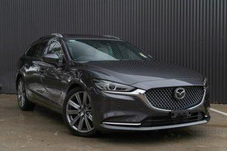 2019 Mazda 6 GL1033 Atenza SKYACTIV-Drive Machine Grey 6 Speed Sports Automatic Wagon.