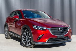 2019 Mazda CX-3 CX-3 D 6AUTO STOURING PETROL FWD Soul Red Crystal Wagon.