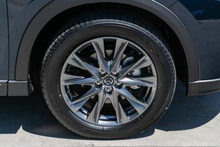2019 Mazda CX-8 KG4W2A Asaki SKYACTIV-Drive i-ACTIV AWD Deep Crystal Blue 6 Speed Sports Automatic
