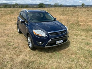 2012 Ford Kuga TE Trend AWD Blue 5 Speed Sports Automatic Wagon.