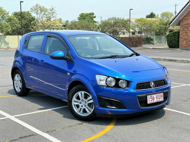 Used Holden Barina TM MY16 CD, 2015 Holden Barina TM MY16 CD Blue 6 Speed Automatic Hatchback