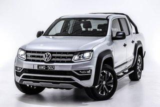 2018 Volkswagen Amarok 2H MY18 TDI550 4MOTION Perm Dark Label Silver 8 Speed Automatic Utility.