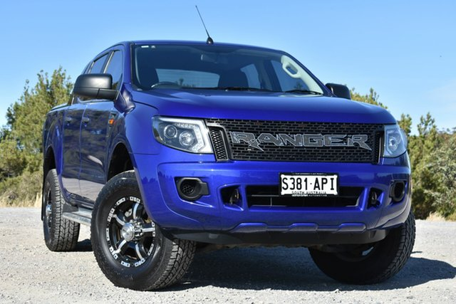 Used Ford Ranger PK XL Super Cab 4x2 Hi-Rider, 2011 Ford Ranger PK XL Super Cab 4x2 Hi-Rider Blue 5 Speed Manual Utility