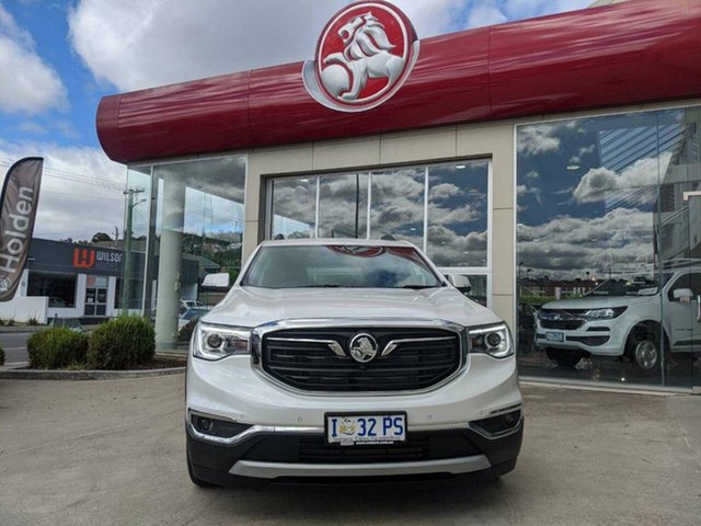 Demo Holden Acadia AC MY19 LTZ AWD, 2019 Holden Acadia AC MY19 LTZ AWD Abalone White 9 Speed Sports Automatic Wagon