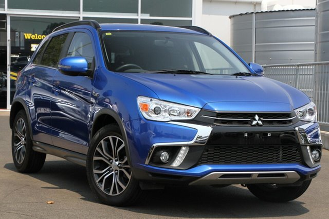 Used Mitsubishi ASX XC MY18 LS 2WD, 2018 Mitsubishi ASX XC MY18 LS 2WD Blue 6 Speed Constant Variable Wagon