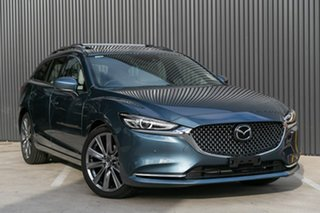 2019 Mazda 6 GL1033 Atenza SKYACTIV-Drive Blue Reflex 6 Speed Sports Automatic Wagon.
