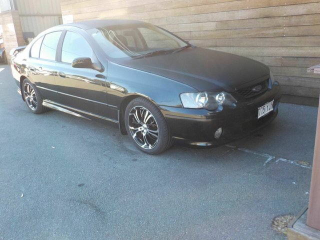 Used Ford Falcon BA XR6, 2004 Ford Falcon BA XR6 Black 4 Speed Sports Automatic Sedan