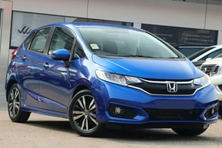2020 Honda Jazz GF MY21 VTi-L Brilliant Sporty Blue 1 Speed Constant Variable Hatchback.
