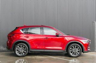 2019 Mazda CX-5 CX-5 H 6AUTO AKERA PETROL TURBO AWD Soul Red Crystal Wagon.