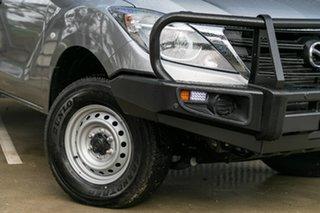 2019 Mazda BT-50 UR0YG1 XT Aluminium 6 Speed Sports Automatic Cab Chassis.