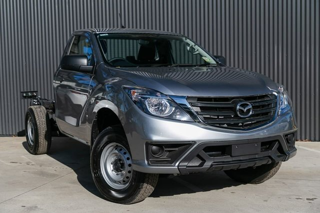 Demo Mazda BT-50 UR0YG1 XT, 2019 Mazda BT-50 UR0YG1 XT Aluminium 6 Speed Sports Automatic Cab Chassis