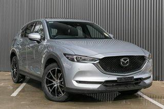 2019 Mazda CX-5 Akera Sonic Silver 6 Speed Steptronic Wagon.