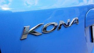 2018 Hyundai Kona OS.2 MY19 Go D-CT AWD Blue Lagoon 7 Speed Sports Automatic Dual Clutch Wagon