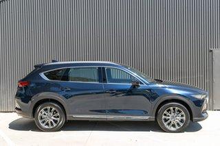 2019 Mazda CX-8 KG4W2A Asaki SKYACTIV-Drive i-ACTIV AWD Deep Crystal Blue 6 Speed Sports Automatic.