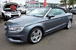 2014 Audi A3 8V MY15 Attraction S Tronic Grey 7 Speed Sports Automatic Dual Clutch Cabriolet