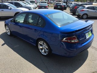 2012 Ford Falcon FG MK2 XR6 Blue 6 Speed Auto Seq Sportshift Sedan