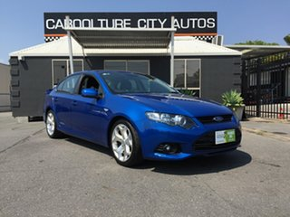 2012 Ford Falcon FG MK2 XR6 Blue 6 Speed Auto Seq Sportshift Sedan.