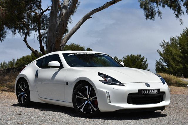 Demo Nissan 370Z Z34 MY19 , 2019 Nissan 370Z Z34 MY19 Shiro White 7 Speed Sports Automatic Coupe