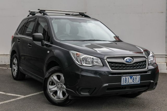 Used Subaru Forester S4 MY13 2.5i Lineartronic AWD, 2013 Subaru Forester S4 MY13 2.5i Lineartronic AWD Grey 6 Speed Constant Variable Wagon