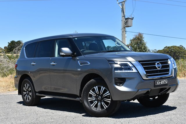 Demo Nissan Patrol Y62 Series 5 MY20 TI, 2019 Nissan Patrol Y62 Series 5 MY20 TI Gun Metallic 7 Speed Sports Automatic Wagon