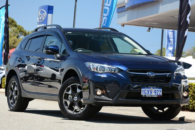 Demo Subaru XV G5X MY19 2.0i Premium Lineartronic AWD, 2019 Subaru XV G5X MY19 2.0i Premium Lineartronic AWD Dark Blue Pearl 7 Speed Constant Variable