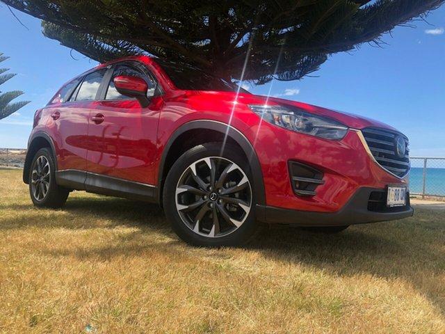Used Mazda CX-5 KE1032 Akera SKYACTIV-Drive i-ACTIV AWD, 2016 Mazda CX-5 KE1032 Akera SKYACTIV-Drive i-ACTIV AWD Red 6 Speed Sports Automatic Wagon