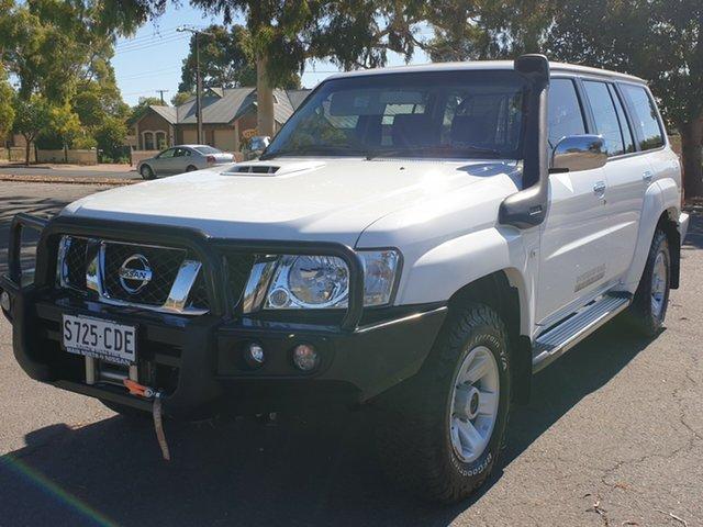 Used Nissan Patrol Y61 GU 10 ST, 2016 Nissan Patrol Y61 GU 10 ST White 4 Speed Automatic Wagon