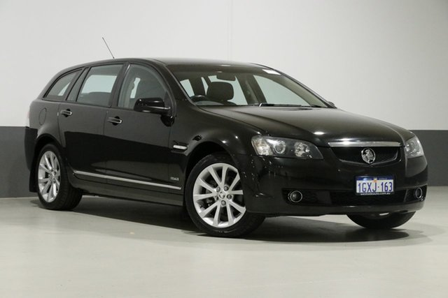 Used Holden Calais VE II V, 2010 Holden Calais VE II V Black 6 Speed Automatic Sportswagon