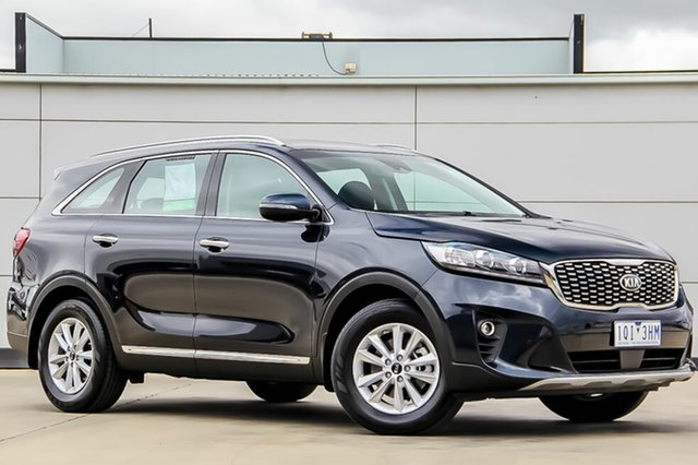Used Kia Sorento UM MY18 SI, 2018 Kia Sorento UM MY18 SI Gravity Blue 8 Speed Sports Automatic Wagon