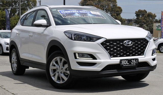 Demo Hyundai Tucson TL4 MY20 Active 2WD, 2019 Hyundai Tucson TL4 MY20 Active 2WD Pure White 6 Speed Automatic Wagon