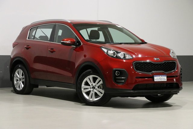 Used Kia Sportage QL MY18 SI (FWD), 2018 Kia Sportage QL MY18 SI (FWD) Red 6 Speed Automatic Wagon