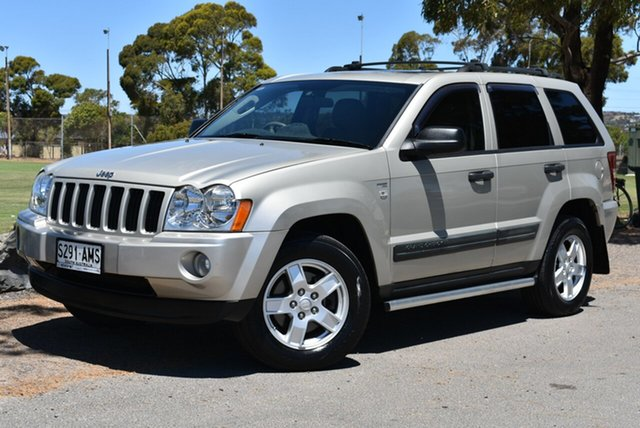 Used Jeep Grand Cherokee WH MY2006 65th Anniversary, 2006 Jeep Grand Cherokee WH MY2006 65th Anniversary Grey 5 Speed Automatic Wagon