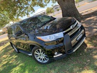 2015 Toyota Kluger GSU50R Grande 2WD Black 6 Speed Sports Automatic Wagon.