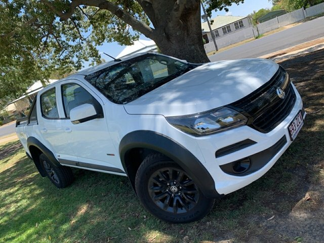 Used Holden Colorado RG MY19 LS Pickup Crew Cab, 2018 Holden Colorado RG MY19 LS Pickup Crew Cab White 6 Speed Sports Automatic Utility