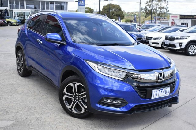 Used Honda HR-V MY18 VTi-LX, 2018 Honda HR-V MY18 VTi-LX Blue 1 Speed Constant Variable Hatchback