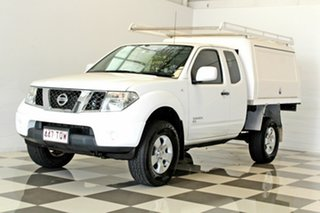 2013 Nissan Navara D40 MY13 RX (4x4) White 5 Speed Automatic King Cab Chassis