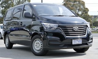 2018 Hyundai iLOAD TQ4 MY19 Timeless Black 5 Speed Automatic Van.