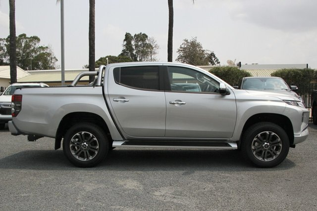 Demo Mitsubishi Triton MR MY19 GLS Double Cab, 2019 Mitsubishi Triton MR MY19 GLS Double Cab Sterling Silver 6 Speed Sports Automatic Utility